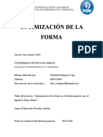 Optimización de Forma
