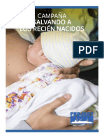 Campaña Salvando a Los Recien Nacidos