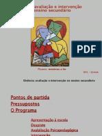 APRESENTAÇÃO_Dislexia - Avaliação e Intervenção em alunos do Ensino Secundário