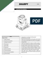 HR Sharpy Manual 05.2016 En