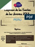 Empresa de Los Sueños - Peru