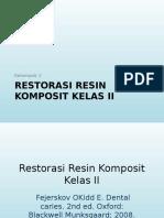 Ppt SOP Resin Komposit