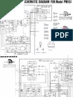 Marantz PM 151 Schematic