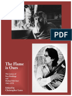 The Flame is ours - Letters Sam Brakhage Michael McClure.pdf