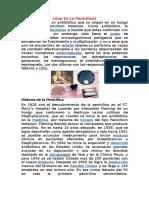 Historia Penicilina Conceptos