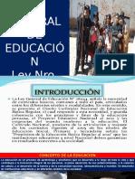 Ley de Educación