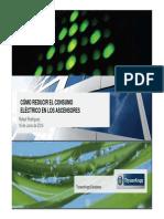 03 Como Reducir El Consumo Electrico en Los Ascensores THYSSENKRUPP Fenercom 2014