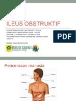 Ileus Obstruktif - Penyuluhan