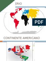 Continente Americano 3ro 2015