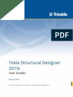 Tekla Structural Designer 2015i User Guide