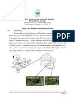 CPCB Recommendation Report Bellandur Lake