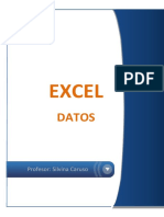 Manual Excel Datos