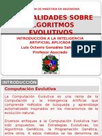 Introduccion Algoritmos Evolutivos Algoritmos Geneticos