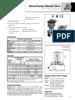 General service solenoid valve asco8210.pdf