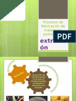 Procesos de Fabricación de Materiales Poliméricos