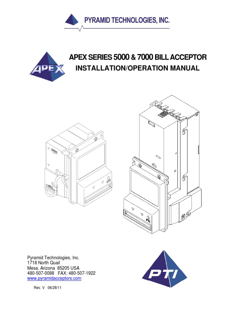 Apex Manual   Electrical Connector   Digital Electronics
