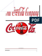 Organizational Behaviour of Coca Cola