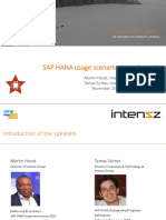 SAPHDE Webinar-SAP HANA Usage Scenarios in Real-World-Tamás Martin-Intenzz-Nov 2014