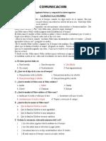 EXAMEN DE CONOCIMIENTO DEL 4° GRADO