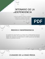 Bicentenario de La Independencia