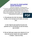 Top 10 Astuces Pour Le Client Parfait