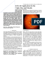 635 a Stand-Alone MATLAB Application for the Detection of Optic Disc and Macula
