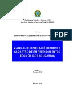 Manual Do CADSOL - Versão 1.1 Fev.15