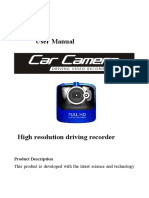 DV-12 Car Camera Usermanual