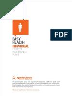Easy Health INDIVIDUAL Brochure