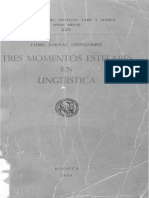 Tres Momentos Estelares de La Lingüística