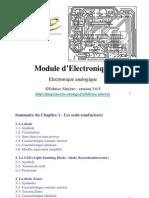 Cours Electronique Analogique Ch1 Semi-conducteur