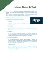 Consideraciones Básicas de Word - Informática Aplicada - Basico Clase 3