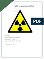 Aplicaciones de La Quimica Nuclear-1