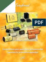 Condensateurs Professional
