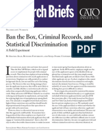 Ban the Box, Criminal Records, and Statistical Discrimination