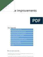 Service Improvements