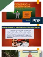 ORGANIZACIÓN DE LA INSTITUCIÓN EDUCATIVA