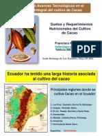 Suelos y Nutrición Del Cacao_Mayo 20 2016