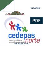Informe Plan de Pasantía Celendín