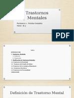 Trastornos Mentales