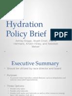 hydration policy brief  1