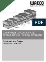 WAECO CFX Operational Manual