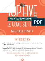 Michael Hyatt Top Five Mistakes in Goal Setting
