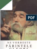 (Ilie Cleopa) Ne Vorbeste Parintele Cleopa. Indrumari Duhovnicesti (05)