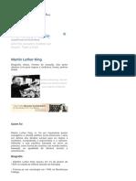 Martin Luther King - Biografia, Frases, Foto, Ideais, Direitos Civis
