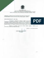 Despacho Incra nº 4029/2016 - Liberação de Servidores para o II CNPFA - Retificado