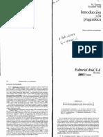 Introducción a La Pragmática de María Victoria Escandell Vidal
