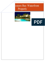 Why Investors Buy Waterfront Property