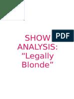 Legally Blonde (Jazz)