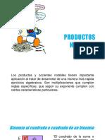 Presentación - Productos Notables